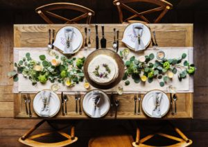 set table decor