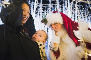 Enchant Christmas giveaway image Santa clause