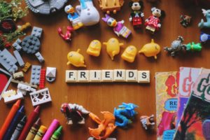 toys and friends