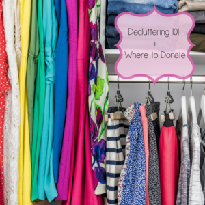 Declutter and donate