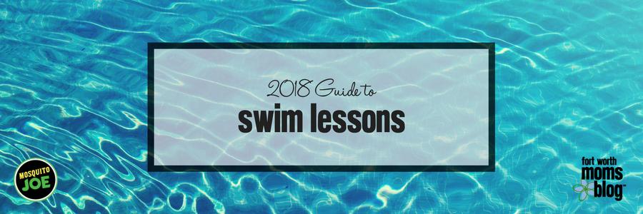 2018 Swim lesson Guide main image