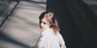 Girl walking away