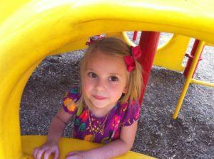 Robyn daughter playground