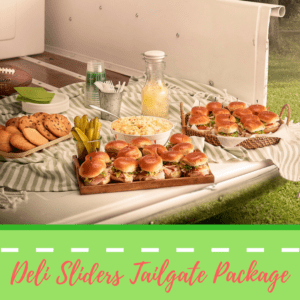 Deli Sliders Tailgate Package - Jason's Deli sponsored