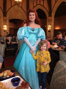 Fyfe Pose with Princess at Disney