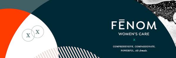 Fenom logo, women's health, gynecology
