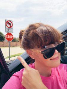 Mom School Traffic Sign