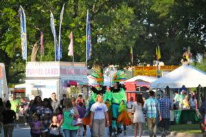 carnival festival crowd