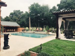 Honey Hollow Ranch pool