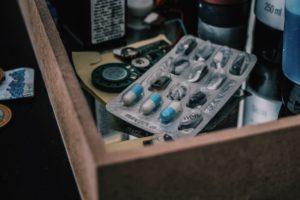Pills in Drawer