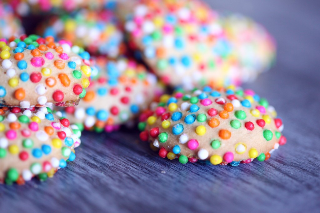 cookie recipes, sprinkle cookies