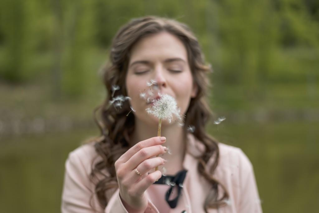 Woman Makes Wish