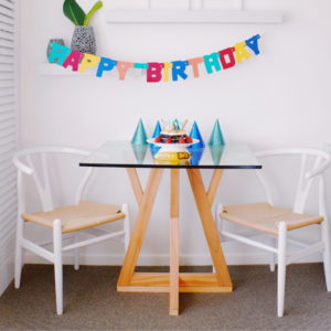Birthday Table and Chairs