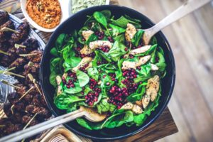 chicken salad, cooking