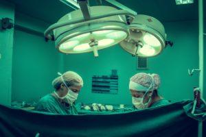 Surgery at Hospital