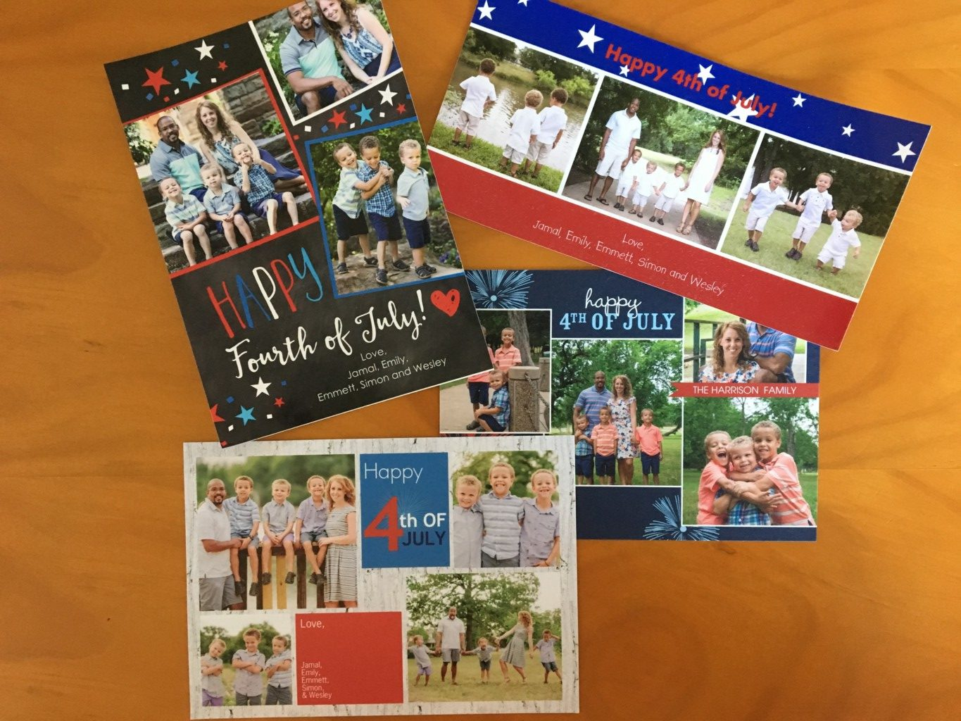 Fourth of July Cards