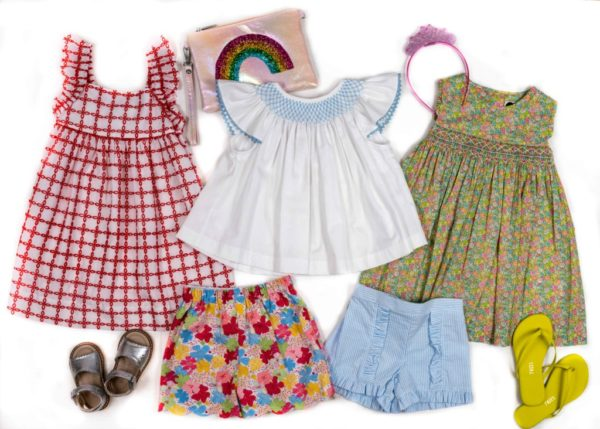 Little girls clothes at Covey House