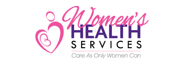 Women's Health Services logo, gynecology,