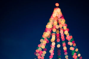 The Christmas tree in Fort Worth will be lit during the Fort Worth Parade of Lights