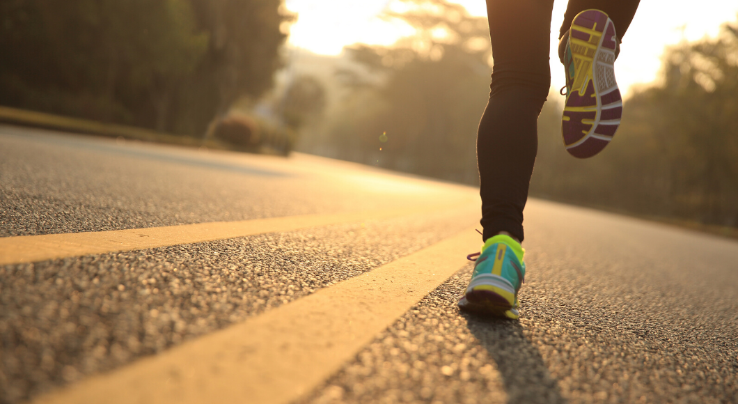 Make fitness, such as running, part of your self-care strategies this year.