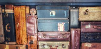 suitcases travel