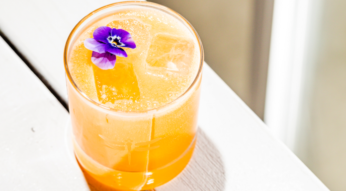 Golden Hour cocktail at bartaco