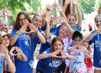 Campers at Camp Olympia build fun, lasting relationships at the summer camp.