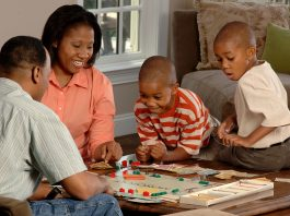 Families can play board games while on lockdown during coronavirus.