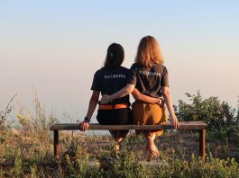 Sisters can be emotional support during infertility.