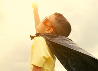 Our kids are the real superheroes during the pandemic.