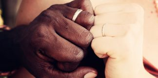 Being married to a black man makes a white local wife and mom worry.