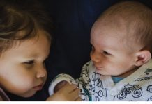 Use these tips to introduce a new sibling.