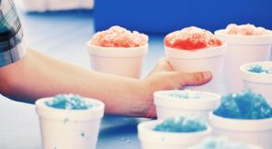 Kids love summer treats like snow cones
