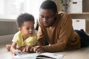 Parents can learn about the importance of reading to their child through a virtual group.