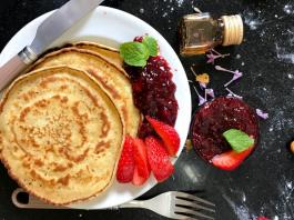 Sharing beloved pancake recipes