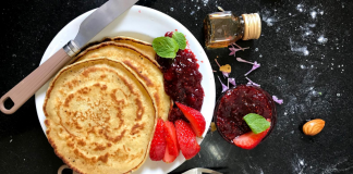 Sharing beloved pancake recipes