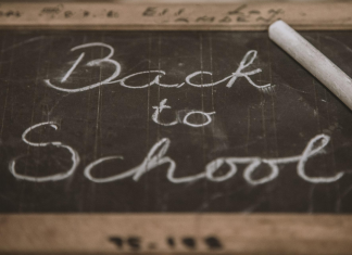 Momfessions Podcast episode 29 back to school sort of