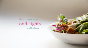 The food fights editorial series features 15 food and eating related articles
