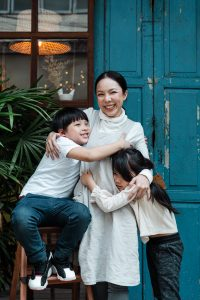Don't stress about perfection when capturing family photos.