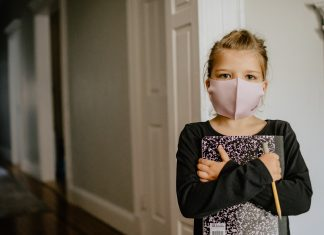 Wear masks inside your home when isolating for COVID.