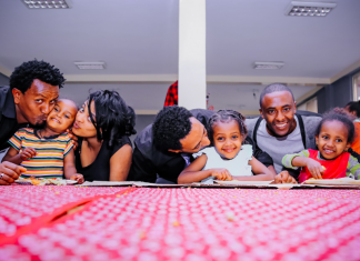Celebrate Kwanzaa with your family.