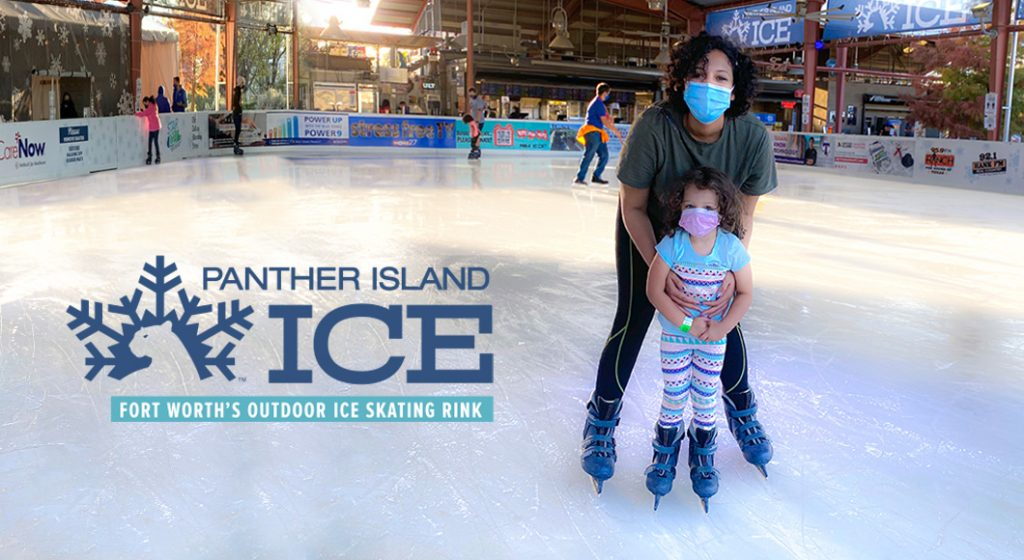 Visit Panther Island Ice with your kids this winter.