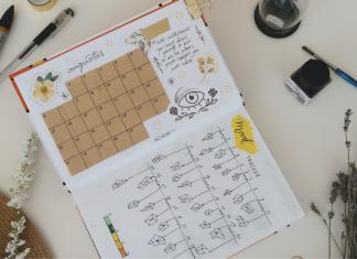 Bullet journals can help plan your schedule.