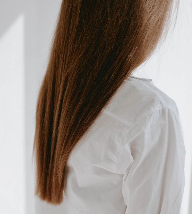 There are several products women with long hair can use to get volume.