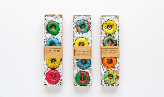 donut recycled crayons