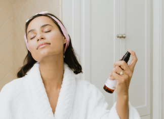 Try this skincare regimen for busy moms.