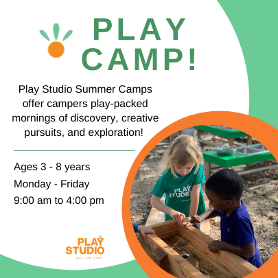 Take kids to Play Studio's Play Camp this summer.