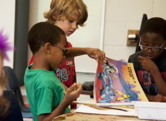 Celebrate Black history month at school.