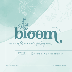 Pregnant and moms to kiddos ages zero to 2 can attend Bloom 2021.
