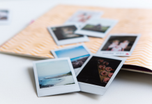 How to organize family photos.